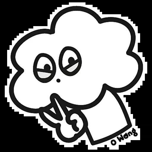 白云花花先生 messages sticker-9