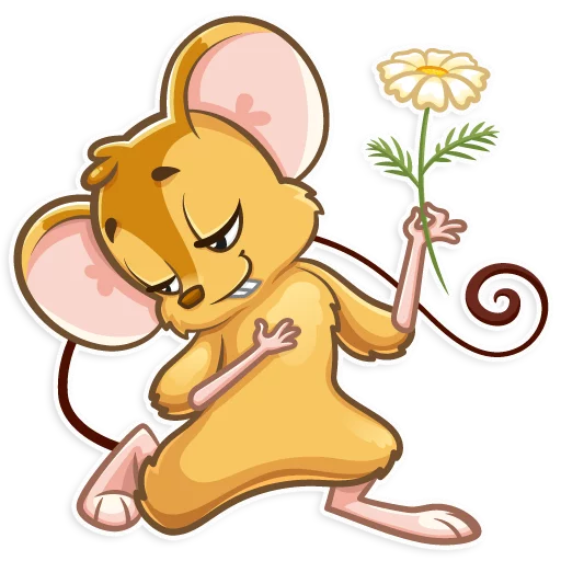 老鼠Arnold messages sticker-8