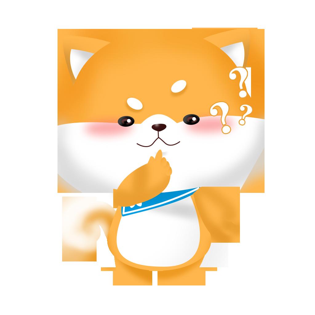 ShibaInu messages sticker-2
