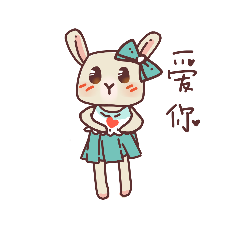 可愛仙女兔 messages sticker-2