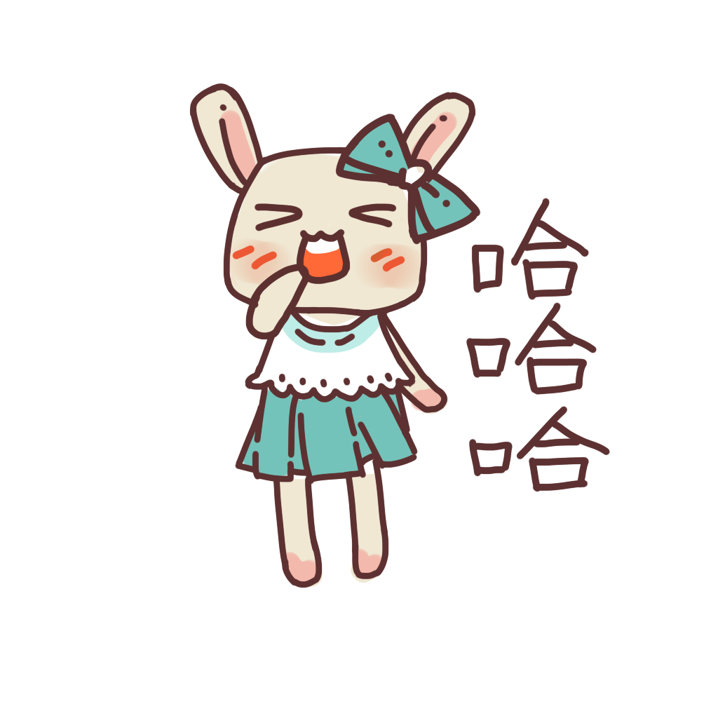 可愛仙女兔 messages sticker-4