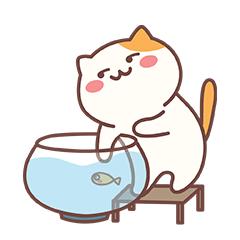 Naughty Little Cat messages sticker-8