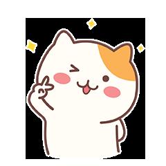 Naughty Little Cat messages sticker-2