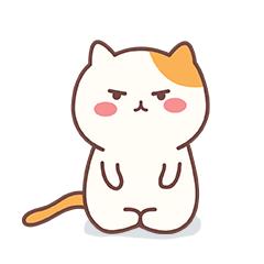 Naughty Little Cat messages sticker-11