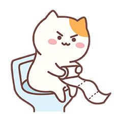 Naughty Little Cat messages sticker-0