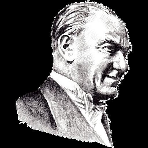 Ataturk Mustafa Kemal Stickers messages sticker-3