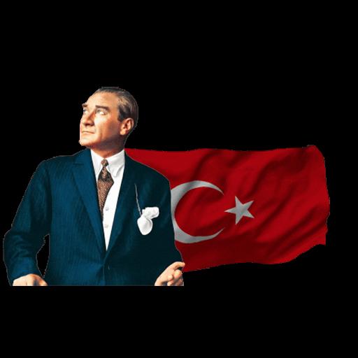 Ataturk Mustafa Kemal Stickers messages sticker-0
