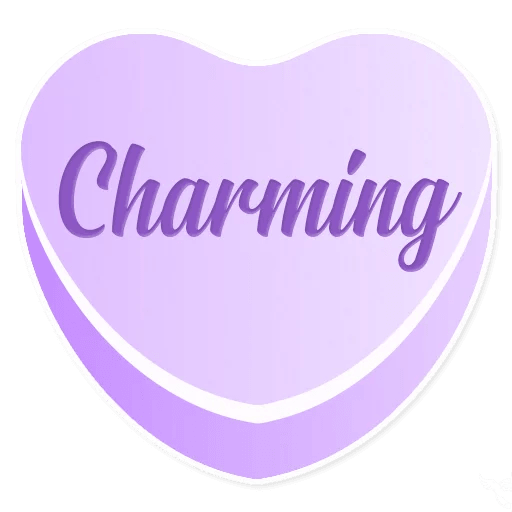 Candy Hearts Love messages sticker-6