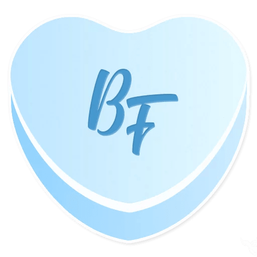 Candy Hearts Love messages sticker-4