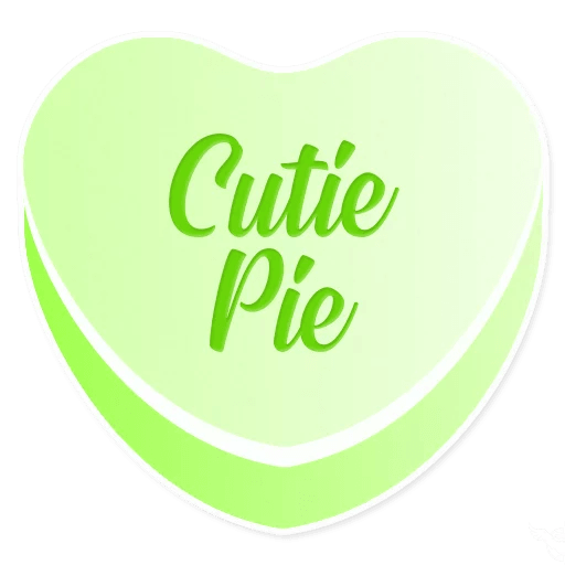 Candy Hearts Love messages sticker-8