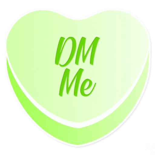 Candy Hearts Love messages sticker-9