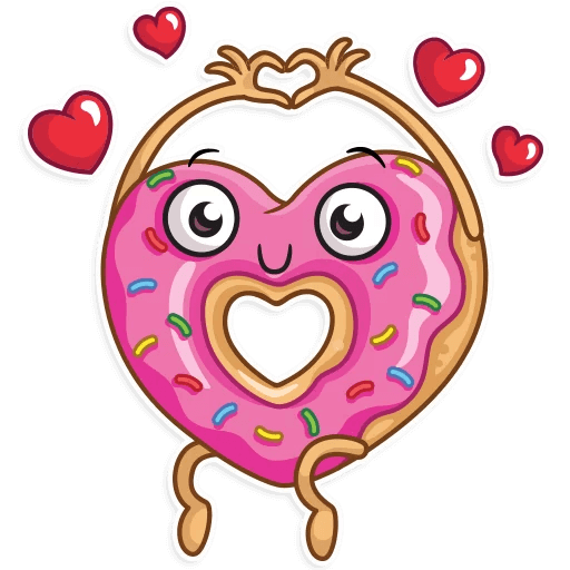Coffee with Donut Stickers messages sticker-11