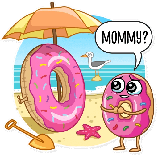 Coffee with Donut Stickers messages sticker-7