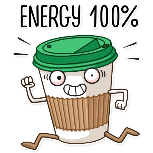 Coffee with Donut Stickers messages sticker-5