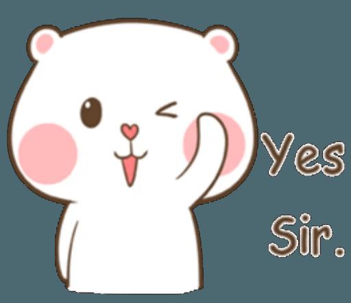 TuaGom Cute Rabbit messages sticker-10