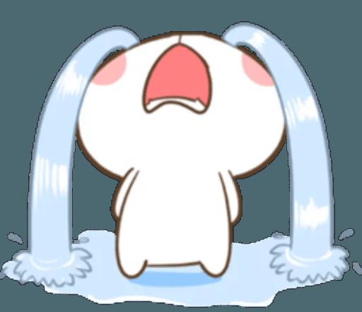 TuaGom Cute Rabbit messages sticker-5
