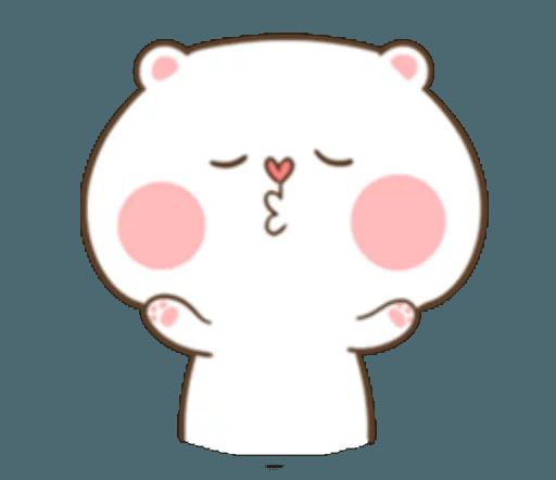 TuaGom Cute Rabbit messages sticker-6