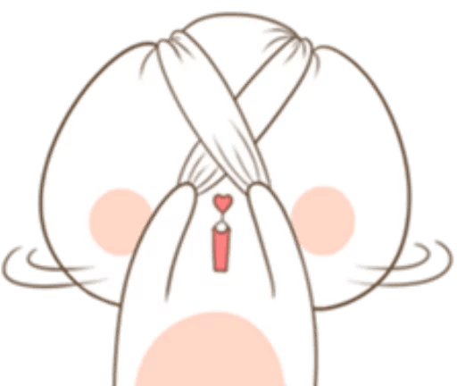 TuaGom Cute Rabbit messages sticker-11