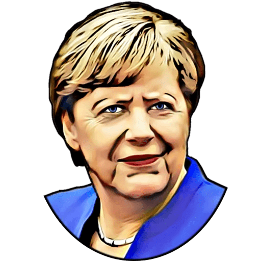 Angela Merkel Stickers Pack messages sticker-0