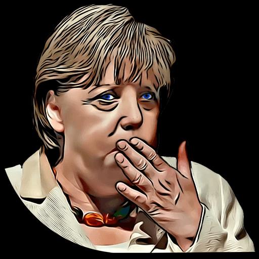 Angela Merkel Stickers Pack messages sticker-5