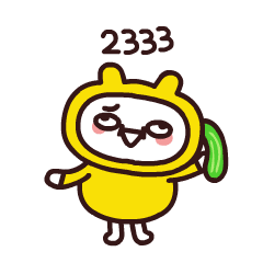 Yellow Small Buns messages sticker-4