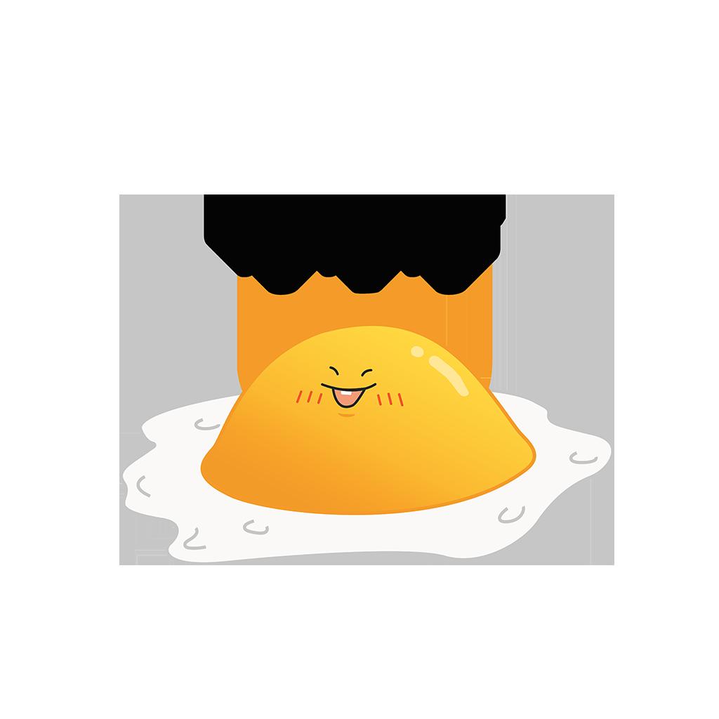 艾哥煎蛋 messages sticker-1