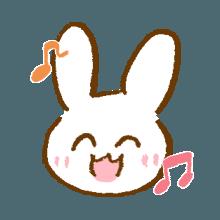 涂鸦兔子 messages sticker-6