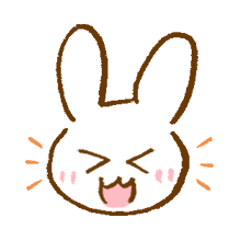 涂鸦兔子 messages sticker-3