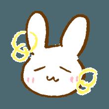 涂鸦兔子 messages sticker-2