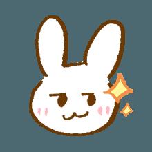 涂鸦兔子 messages sticker-10