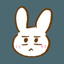 涂鸦兔子 messages sticker-11