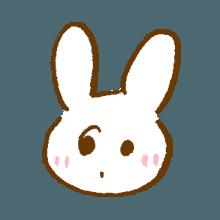 涂鸦兔子 messages sticker-9