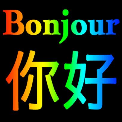 Français Chinois messages sticker-1