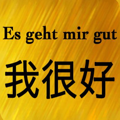 Deutsch Chinesisch messages sticker-6