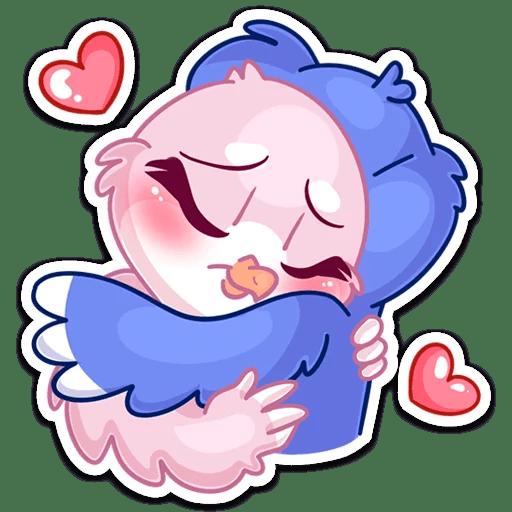 Finn & Fenech Love story messages sticker-5