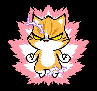 貼紙-爪抓貓的生活百态 messages sticker-6