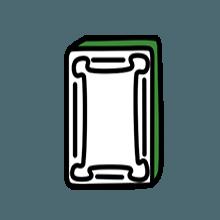 卡通麻将贴纸 messages sticker-7