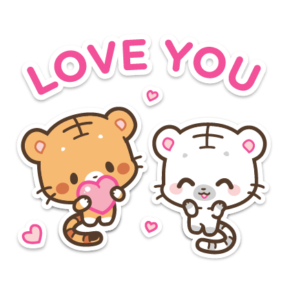 Ginger and Lily Tigers messages sticker-7