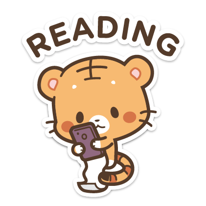Ginger and Lily Tigers messages sticker-5