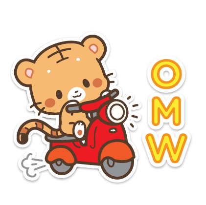 Ginger and Lily Tigers messages sticker-9