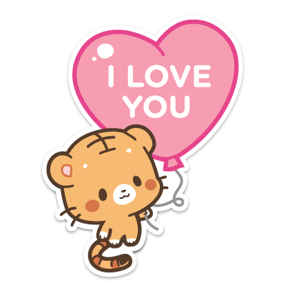 Ginger and Lily Tigers messages sticker-6