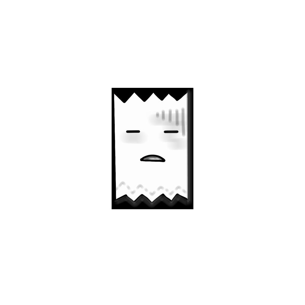 Tissue's emotion Stickers messages sticker-6