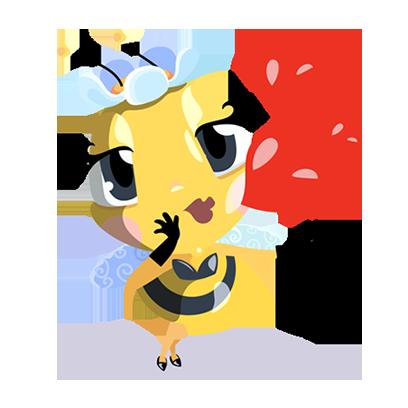 Word Bee Blitz messages sticker-9