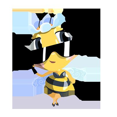Word Bee Blitz messages sticker-4