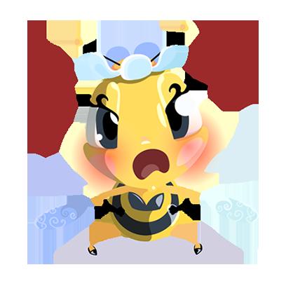Word Bee Blitz messages sticker-0