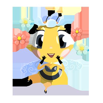Word Bee Blitz messages sticker-7