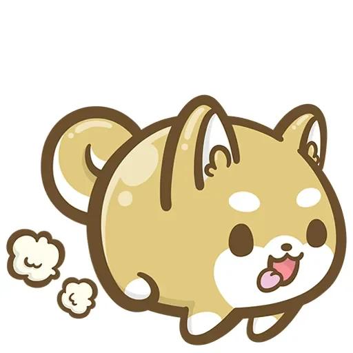 DIY小柴犬 messages sticker-9