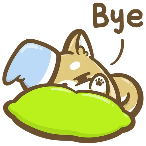 DIY小柴犬 messages sticker-6