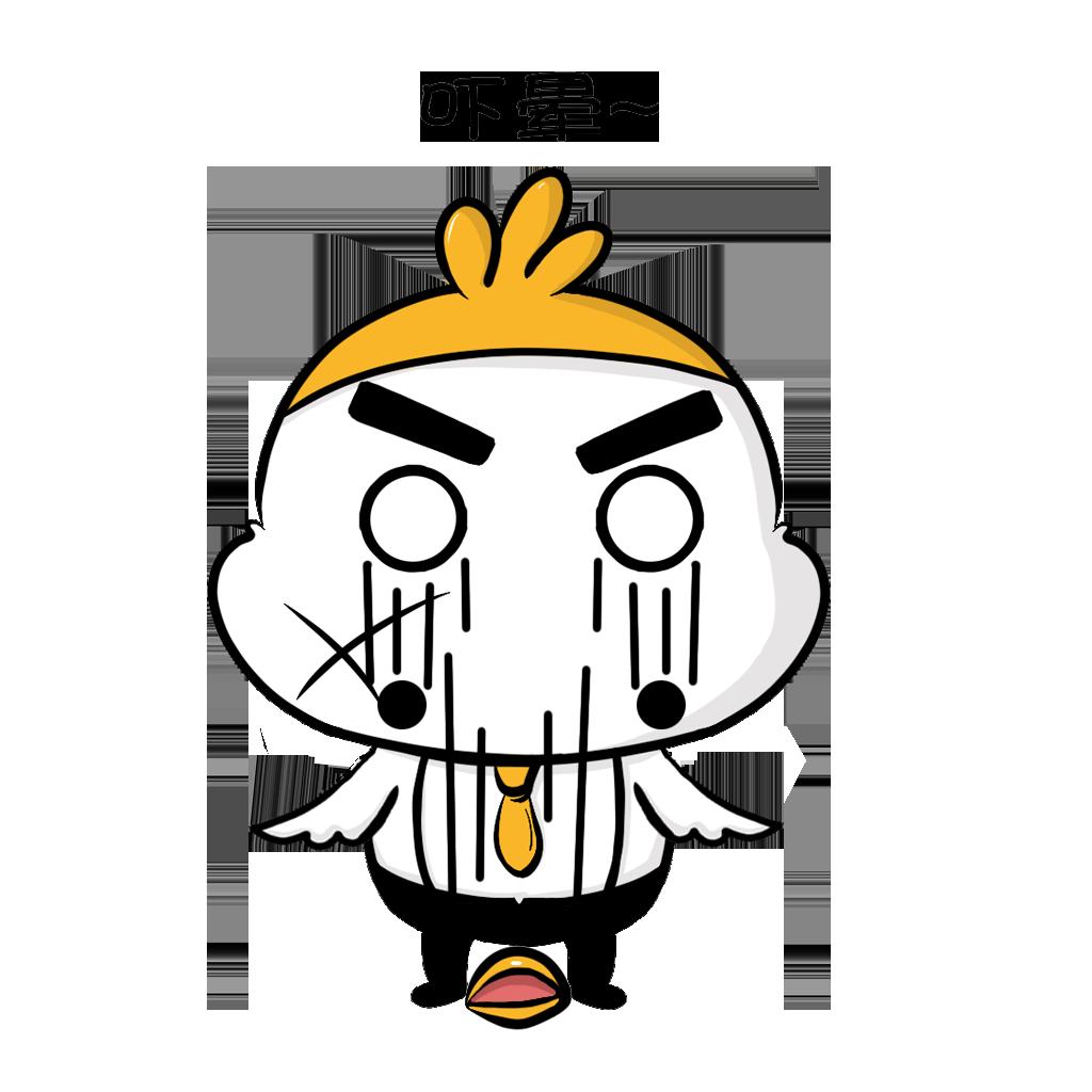 JianMeng-Chicken messages sticker-9
