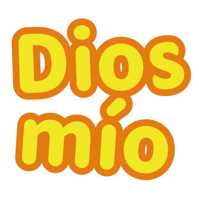Spanish lettering for iMessage messages sticker-5